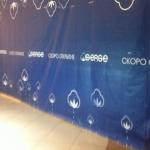 Широкоформатная печать оформление ыременного фасада магазина торгового центра РостАрт0491 2014год