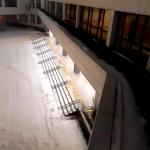 Изготовление тактильной плитки с клеевым слоем на заказ для лестниц пандусов адаптация для МГН РостАрт Москва 2017
