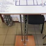 Мнемосхема мобильная печать на пластике тактильные таблички мнемосхемы РостАрт Москва 2018