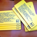 Изготовление тактильных табличек с дублированием шрифта Брайль уф-печать с белилами РостАрт Москва 2018 3517