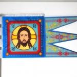 Печать флагов на заказ печать на ткани отрисовка макета флага для РПЦ РостАрт Москва 2016 099