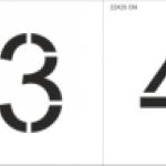 Изготовление трафарета на заказ лазерная резка пластика дизайнерские услуги подготовка макета к резке РостАрт Москва 2017 5521