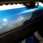 Широкоформатная печать на баннере дизайнерские работы РостАрт Москва 2017 7026