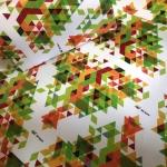 Интерьерная печать оберточной бумаги на заказ по ТЗ заказчика РостАрт Москва 2017