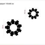 Изготовление трафарета на заказ лазерная резка пластика ПЭТ РостАрт Москва 2018 8650