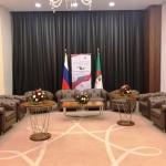 Изготовление ролл-аппов roll up и представительской продукции для Деловой миссии Правительства России Алжир РостАрт Москва 2017